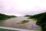 DS 3-2-2000 Norwegen Vest - Agder.  Blick von der Brücke über den Hidrasunder.jpg