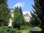 """P 5120706  Im Schloßpark in Gotha - Blick auf die Rückseite des """"Museum der Natur"""""""