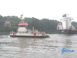 P8250004 Am Nord-Ostsee-Kanal bei der Fähre Landwehr, 24107 Landwehr/Kiel