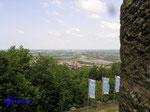 P5310416   Blick vom  Kaiser Wilhelm-Denkmal am Osthang des Wittekindsberges nach Norden in die Norddeutsche Tiefebene