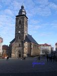 P2090005 Die Margaretenkirche auf dem Neumarkt in Gotha.j