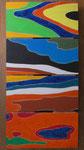 Finistère, Acryl auf Holzplatten, je 15x30cm