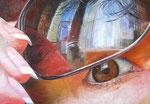 Mein Auge - 70 x 100 x 2 cm