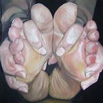 Füße  ca 150 x 150