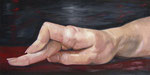 große Hand  80 x 120 x 2