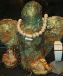 """""""engelamwerk"""", Betonskulpturen für Gold & Silber, Goldschmiede Münster-Wolbeck, copyright Nathalie Arun"""