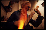 ira glintner playing @ opening 1975