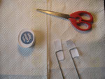 Use cotton cloth (fron haberdashers) to make cloth hinges.