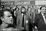7 avril 1981 - Georges Marchais à Villejuif