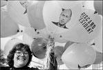 6 avril 1981 - Meeting de Valérie Giscard d'Estaing à Montreuil