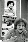 20 mars 1981 - Huguette Bouchardeau à Argenteuil
