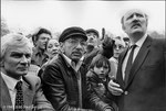 6 avril 1981 - Meeting de Valérie Giscard D'Estaing à Montreuil