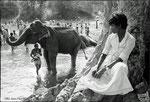 Festival de Kataragama - Gnaga River - Sri Lanka - 1982