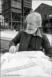 Dr Ralph Lillford, artiste peintre lors de la grande grève des mineurs - 1984