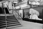 Station de Métro - Ligne circulaire - Londres - 1983