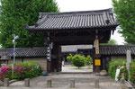 船場本徳寺の山門