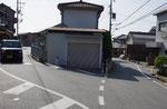 右は山陽道、左が太山寺道