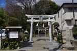 神足神社の鳥居