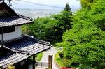 望湖堂から琵琶湖方面を眺める