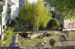 堤下に見える茨田樋跡