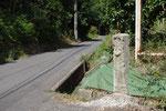 神野町福留三叉路の道標
