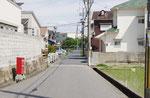 賀古駅家西側地区の道路(野口町良野)