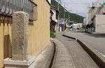 片上宿の道標(1)(左面)