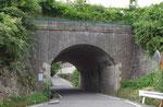 山陽本線の煉瓦製トンネル