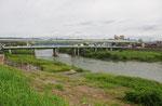 宇治川に架かる観月橋