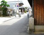 明石市魚住町西福寺前の道標(北面)
