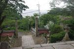 広峰神社に到着、南方面を見る