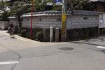 島本町桜井の道標