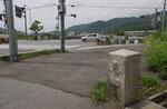 書写橋東詰の道標