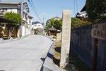 多田神社への道標