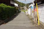 西蓮寺角の道標