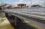 天川に架かる天川橋