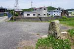 後方火の見櫓が分団倉庫