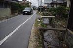 小野町の街並み、北を見る