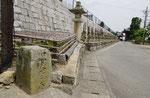 如意輪寺境内の道標D