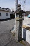 国分寺参道の道標