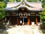 敏馬神社の本殿