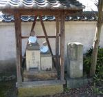 播磨国分寺境内の道標