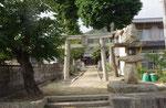 石長姫神社の常夜燈