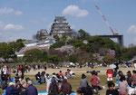 大修理準備の姫路城