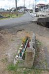 八幡町船町墓地の道標