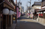 草津宿の通り