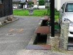 明石市魚住町清水の道標(2)