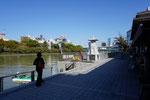 現在の船着き場付近(平成29年12月撮影)