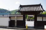 江龍邸前の明治天皇御駐輦所の碑