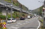 旧東海道は国道1号線に合流
